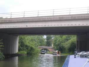 Different types of canal bridge