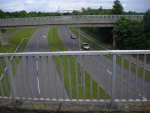Aqueduct over the road