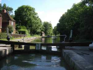 Into the time machine - Stockton Top Lock