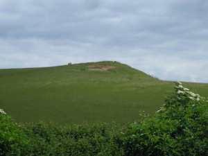 Hill near the Fosse Way