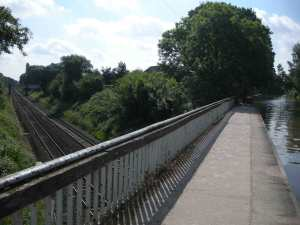 Canal\'s supremacy over rail (for a change!)