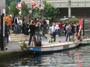 Dragon Boats at Brindley Place