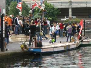 Dragon Boats at Brindley Place