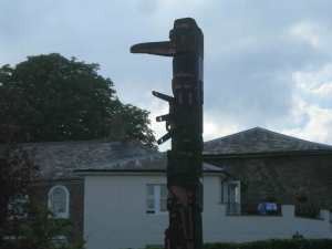 Berkhamsted\'s totem pole