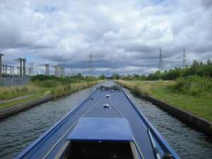 The open vistas of the Tame Valley Canal