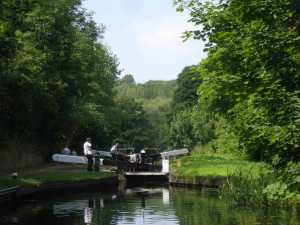 View from the Stourton Locks