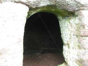 Debdale Lock's cave