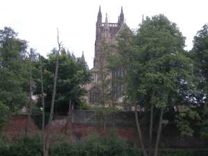 Worcester's Imposing Cathedral