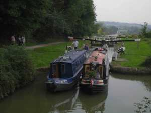 Tandem boating!