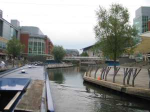 Part of Reading's waterfront