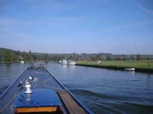 Donwstream of Henley Bridge