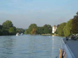 Views upstream of Marlow