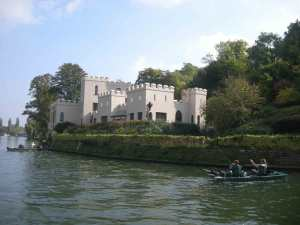 More money than sense? An englishman's home is literally his castle around here....