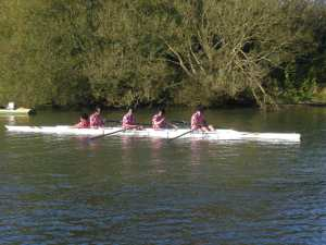 Fancy dress rowing - a new sport for the 2012 Olympics?