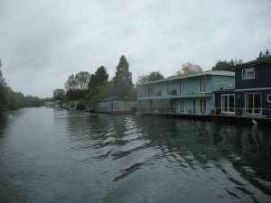 An eclectic range of houseboats...