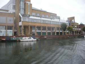 John Lewis' moorings in Kingston