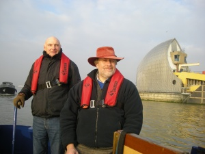 At the Thames Barrier
