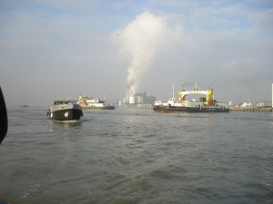 The waltz of the Woolwich Ferries