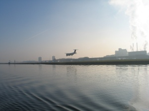 City airport at the Royal Docks!