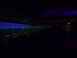 Zany underbridge lights