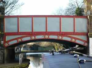 Colourful bridges near Little Venice