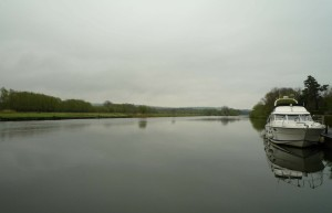 The view downstream of the 'Beetle and Wedge' moorings