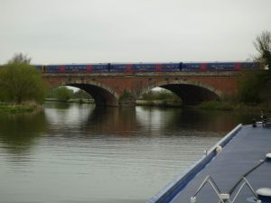 Brunel's skewed creation - Moulsford railway bridge