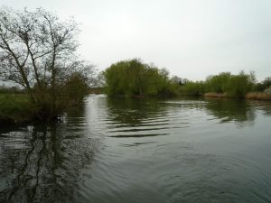 Moulsford's haunted islands