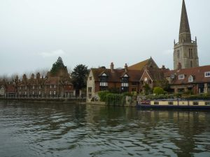 Abingdon's attractive river frontage