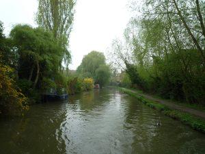 Suburban canal