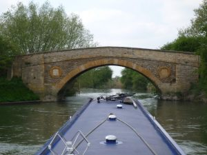 Old Man's Bridge, downstream of Radcot Lock