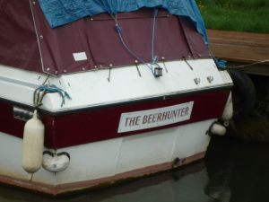 Now there's an apt name for a boat!