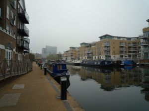 Safe and sound at the Brentford visitor moorings