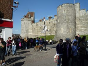 Windsor Castle (town side)