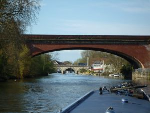 Juxtaposition of bridges in Maidenhead