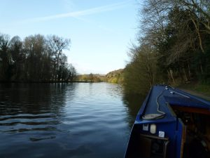 Great views upstream of Cliveden Reach