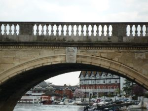 Thames on Henley Bridge
