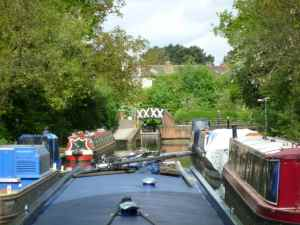 ...and looking forward to the Stratford Canal