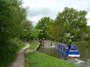 The gentle start of the Lapworth flight (this must be the third or fourth lock up)