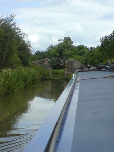 The boat does fit through that bridge - honest!