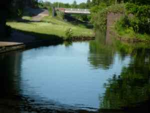 Promising outlook - a view onto the Wyrley and Essington Canal