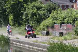 Unwelcome intruders on the towpath