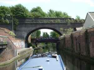 Aquaducts, railway bridges, road bridges - this short branch was it all!
