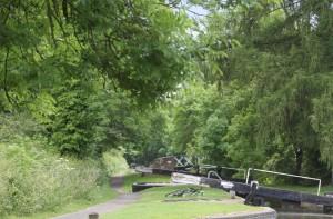 Sylvan waterway - the lovely Lapworth locks