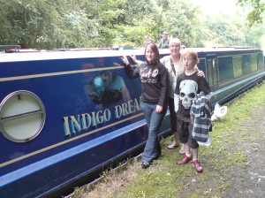 Monday - proof that Indigo Dream's still afloat!