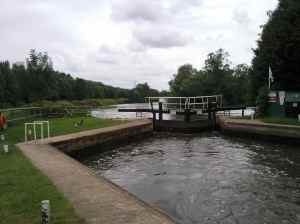 Wyre lock really is triangular