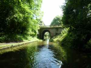 Bridge 10 on the Shroppie - handsome structure..