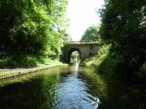 Bridge 10 on the Shroppie - handsome structure..