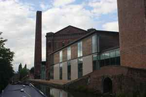 Waterfront at Kidderminster with its excellent town centre moorings