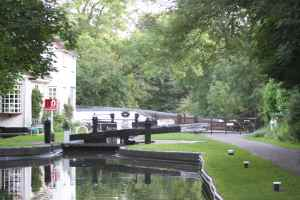 Whittington Lock - this canal's so pretty